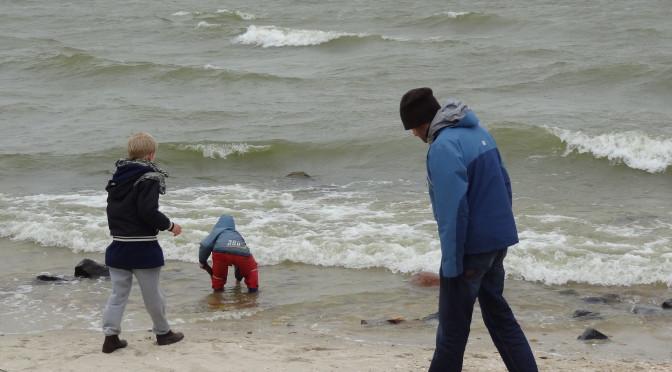 Ieder weertype heeft zijn charme en het vrije uitzicht vanuit het Workumer strand ontbloot de schoonheid van een onweersbui