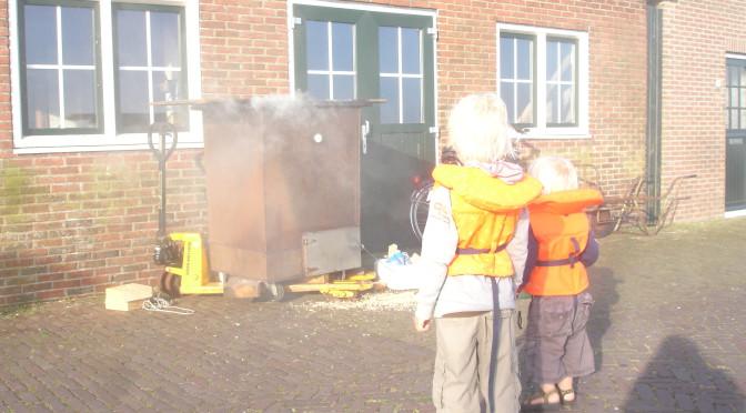 Vers gerookte vis en paling uit Friese wateren